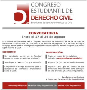 Convocatoria VCEDC