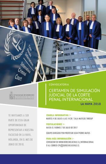 Convocatoria Certamen de Simulación Judicial  CPI