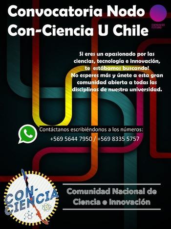 Convocatoria Nodo Con-Ciencia U Chile