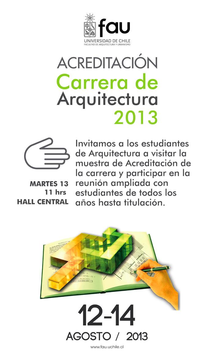 U cursos facultad de arquitectura y urbanismo afiches for Cursos facultad de arquitectura