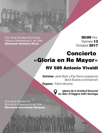 Concierto Coro FCFM y Coro FEN