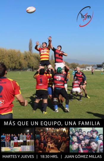 Únete al club de rugby de la FCFM!