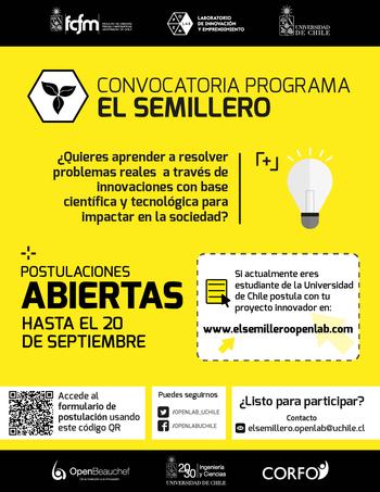Participa de El Semillero