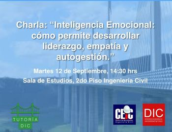 Charla: Martes 14:30 hrs. 2º Piso Edificio Civil